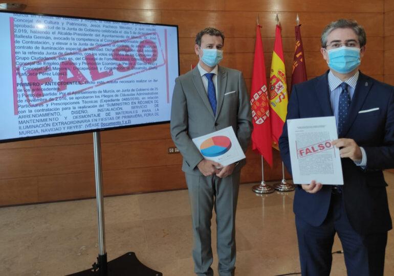 El futuro del pacto de gobierno del Ayuntamiento de Murcia, en manos de la directiva de los partidos
