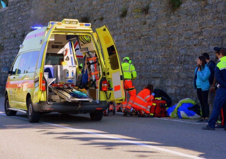 3 heridos en un accidente con tres coches y una moto implicados en Cartagena
